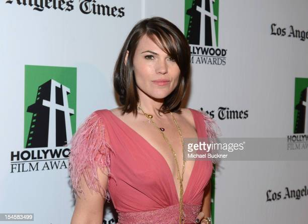 Actress Clea DuVall arrives at the 16th Annual Hollywood Film Awards Gala presented by The Los Angeles Times held at The Beverly Hilton Hotel on...