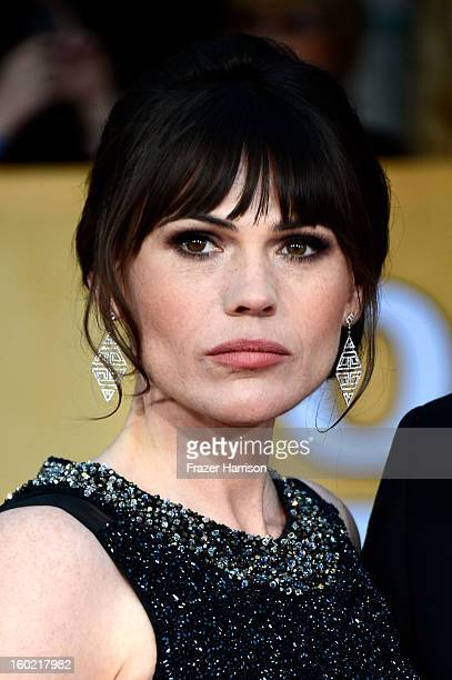 Actress Clea DuVall arrives at the 19th Annual Screen Actors Guild Awards held at The Shrine Auditorium on January 27 2013 in Los Angeles California