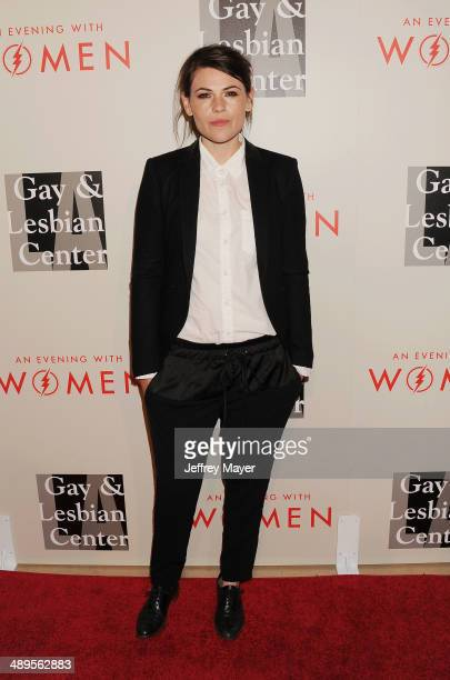 Actress Clea DuVall arrives at the 2014 An Evening With Women Benefiting LA Gay Lesbian Center at the Beverly Hilton Hotel on May 10 2014 in Beverly...