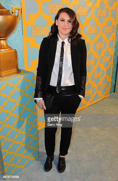 Actress Clea Duvall attends HBO's post Golden Globe Awards party at The Beverly Hilton Hotel on January 11 2015 in Beverly Hills California