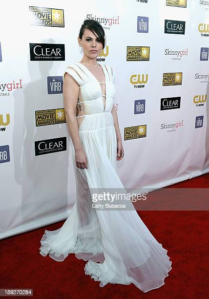 Actress Clea Duvall attends the 18th Annual Critics' Choice Movie Awards held at Barker Hangar on January 10 2013 in Santa Monica California