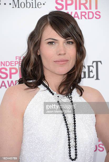Actress Clea DuVall attends the 2013 Film Independent Spirit Awards at Santa Monica Beach on February 23 2013 in Santa Monica California