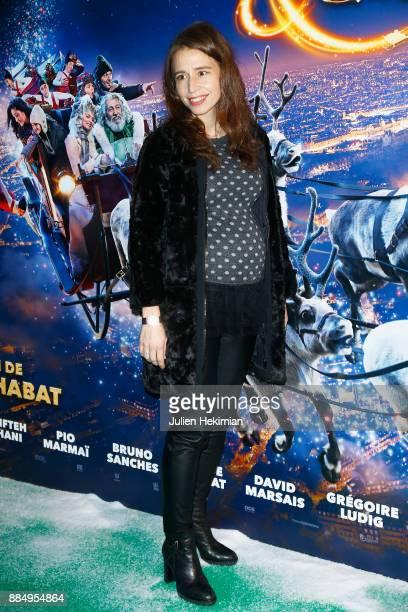 Actress Clemence Guerrand attends 'Santa Cie' Paris Premiere at Cinema Pathe Beaugrenelle on December 3 2017 in Paris France