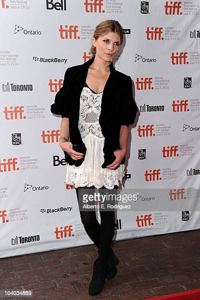 Actress Clemence Poesy attends the '127 Hours' Premiere held at Ryerson Theatre during the 35th Toronto International Film Festival on September 12...