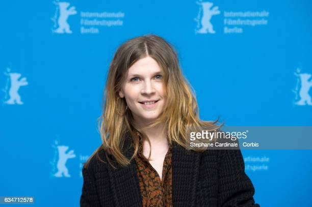 Actress Clemence Poesy attends the 'Final Portrait' photo call during the 67th Berlinale International Film Festival Berlin at Grand Hyatt Hotel on...