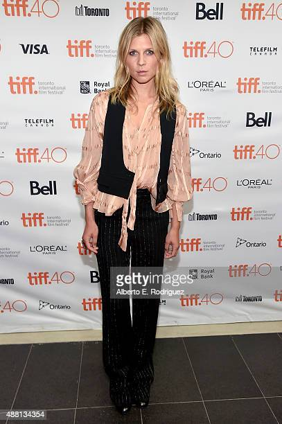 Actress Clemence Poesy attends The Ones Below photo call during the 2015 Toronto International Film Festival at the TIFF Bell Lightbox on September...