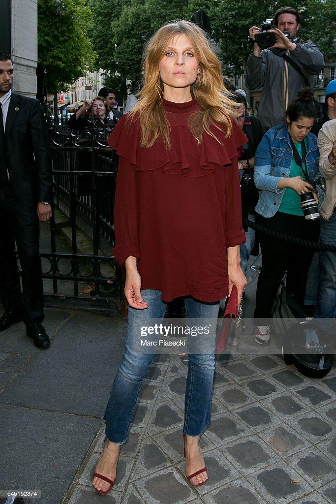 Vogue Foundation Gala 2016 : Outside Arrivals - Paris Fashion Week : Haute Couture F/W 2016-2017
