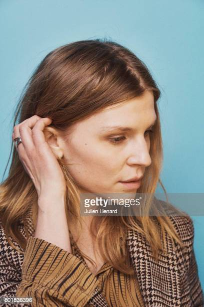 Actress Clemence Poesy is photographed for Self Assignment on February 2 2017 in Paris France