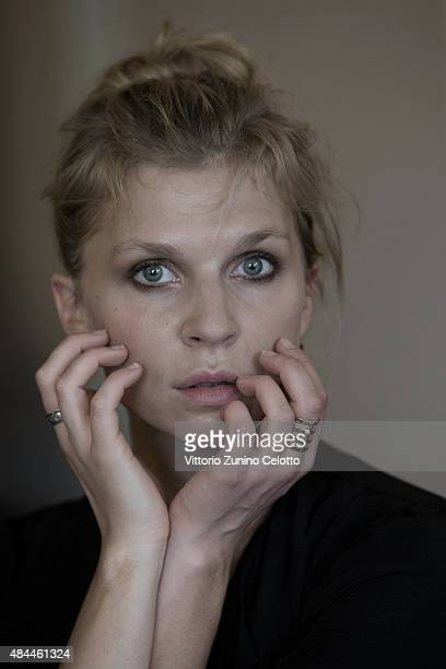 Actress Clemence Poesy is photographed for Self Assignment on August 8 2015 in Locarno Switzerland