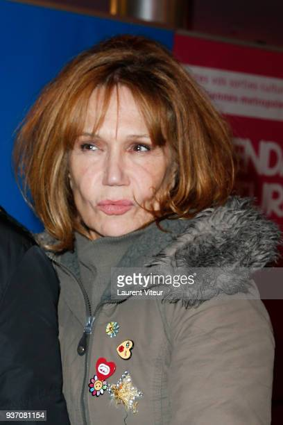 Actress Clementine Celarie attends 8th Festival2Valenciennes on March 21 2018 in Valenciennes France
