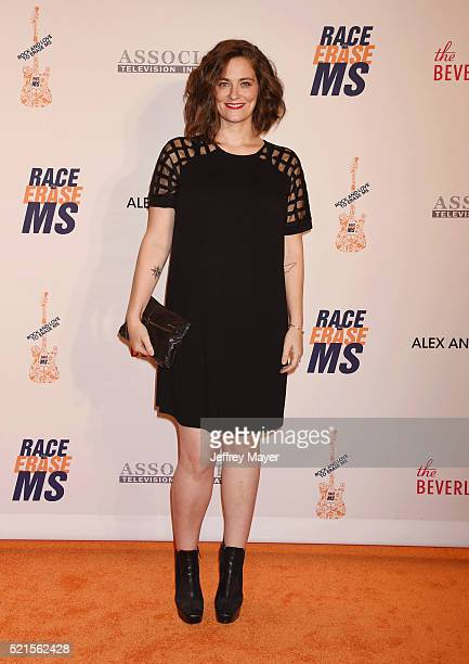 Actress Clementine Ford attends the 23rd Annual Race To Erase MS Gala at The Beverly Hilton Hotel on April 15 2016 in Beverly Hills California