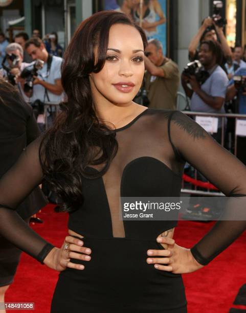 Actress Cleopatra Coleman arrives at the Los Angeles Premiere of Summit Entertainment's 'Step Up Revolution' at Grauman's Chinese Theatre on July 17...