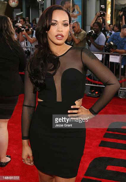 Actress Cleopatra Coleman arrives at the Los Angeles Premiere of Summit Entertainment's 'Step Up Revolution' at Grauman's Chinese Theatre on July 17,...