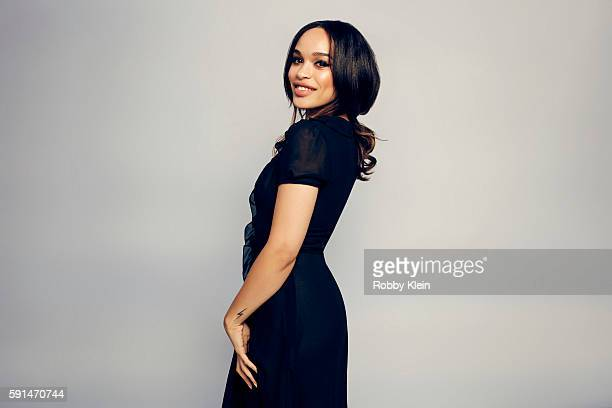 Actress Cleopatra Coleman from FOX's 'The Last Man on Earth' poses for a portrait at the FOX Summer TCA Press Tour at Soho House on August 9 2016 in...