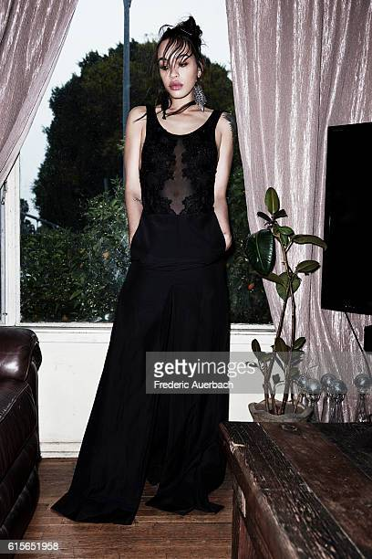Actress Cleopatra Coleman is photographed for Contentmode Magazine on February 17 2016 in Los Angeles California Published Image