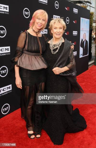 Actress Cloris Leachman and daughter Dinah Englund attend AFI's 41st Life Achievement Award Tribute to Mel Brooks at Dolby Theatre on June 6, 2013 in...