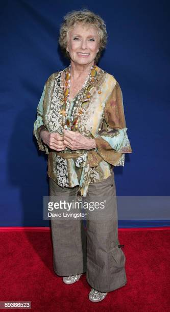 Actress Cloris Leachman attends an industry screening of Walt Disney Pictures' Ponyo at the El Capitan Theatre on July 27 2009 in Hollywood California