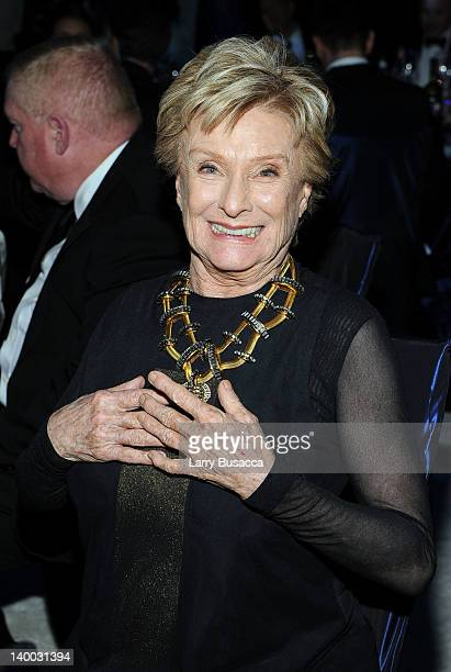 Actress Cloris Leachman attends the 20th Annual Elton John AIDS Foundation Academy Awards Viewing Party at The City of West Hollywood Park on...