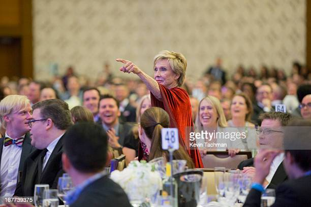 Actress Cloris Leachman attends the 24th Annual GLAAD Media Awards presented by Ketel One and Wells Fargo at JW Marriott Los Angeles at LA LIVE on...