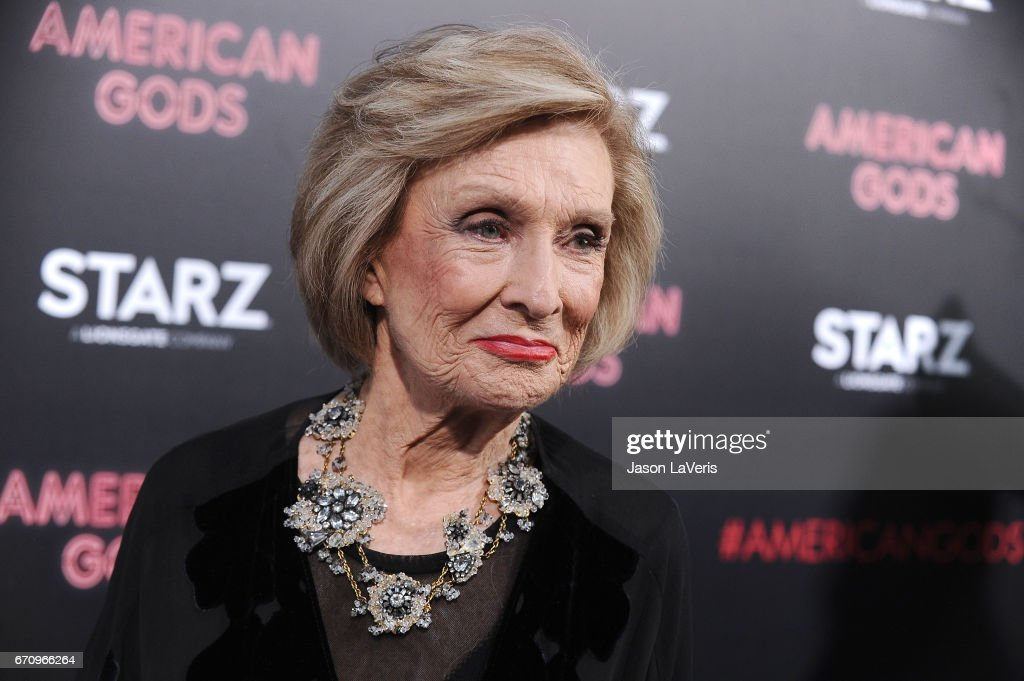 Actress Cloris Leachman attends the premiere of 'American Gods' at ArcLight Cinemas Cinerama Dome on April 20, 2017 in Hollywood, California.