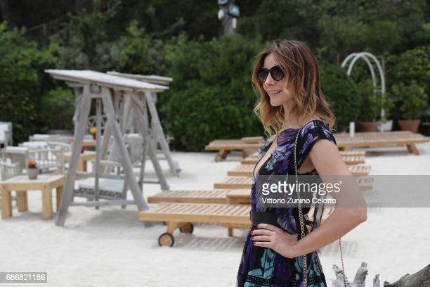 Actress Clotilde Courau attends Kering Women in motion Lunch with Madame Figaro on May 22 2017 in Cannes France