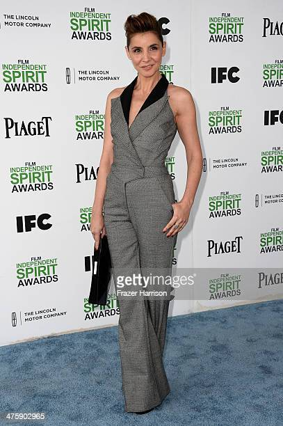 Actress Clotilde Courau attends the 2014 Film Independent Spirit Awards at Santa Monica Beach on March 1 2014 in Santa Monica California