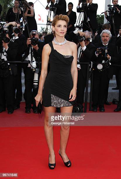 Actress Clotilde Courau attends the premiere of 'Biutiful' held at the Palais des Festivals during the 63rd Annual International Cannes Film Festival...