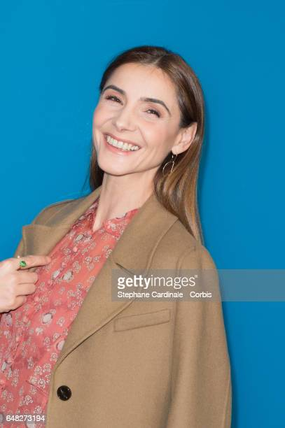 Actress Clotilde Courau attends the Valentino show as part of the Paris Fashion Week Womenswear Fall/Winter 2017/2018 on March 5 2017 in Paris France