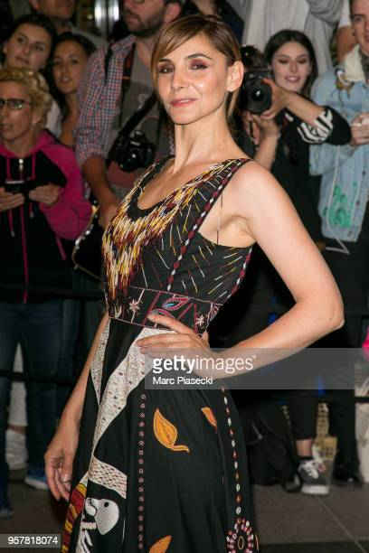 Actress Clotilde Courau is seen during the 71st annual Cannes Film Festival at on May 12 2018 in Cannes France