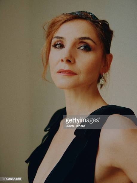 Actress Clotilde Courau poses for a portrait on May, 2018 in Cannes, France. .