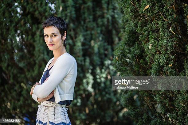 Actress Clotilde Hesme is photographed for Self Assignment in Venice Italy