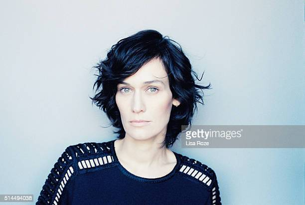 Actress Clotilde Hesme is photographed for Self Assignment on January 31 2016 in Paris France