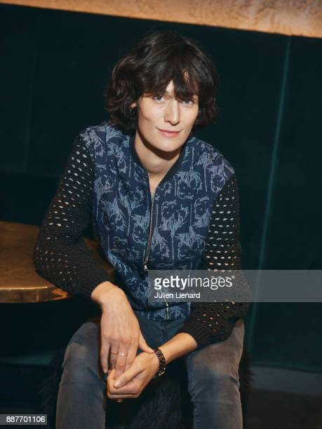 Actress Clotilde Hesme is photographes for Self Assignment in October 2017 in Paris France