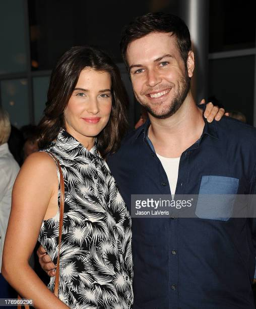Actress Cobie Smulders and actor Taran Killam attend the premiere of 'Afternoon Delight' at ArcLight Hollywood on August 19 2013 in Hollywood...