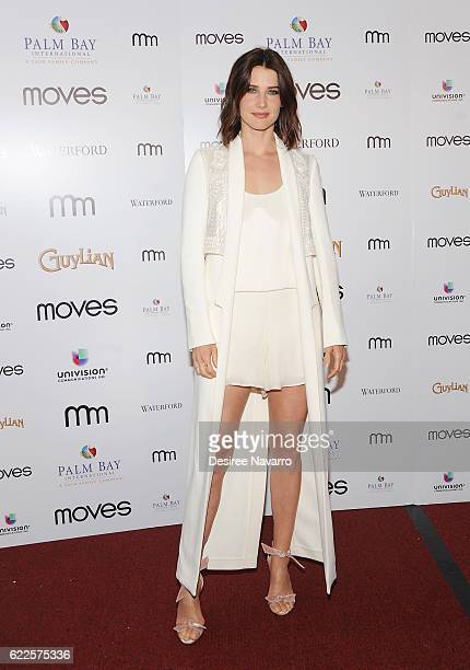 Actress Cobie Smulders attends 2016 New York Moves Awards at India House Club on November 11 2016 in New York City