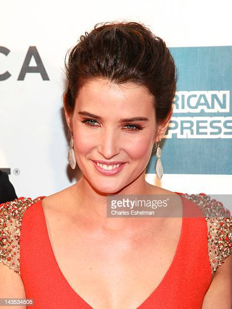 """Actress Cobie Smulders attends """"Marvel's The Avengers"""" premiere during the closing night of the 2012 Tribeca Film Festival at BMCC Tribeca PAC on..."""
