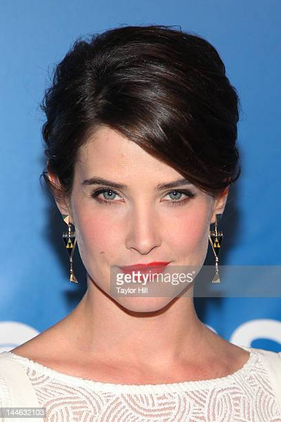 Actress Cobie Smulders attends the 2012 CBS Upfronts at The Tent at Lincoln Center on May 16 2012 in New York City