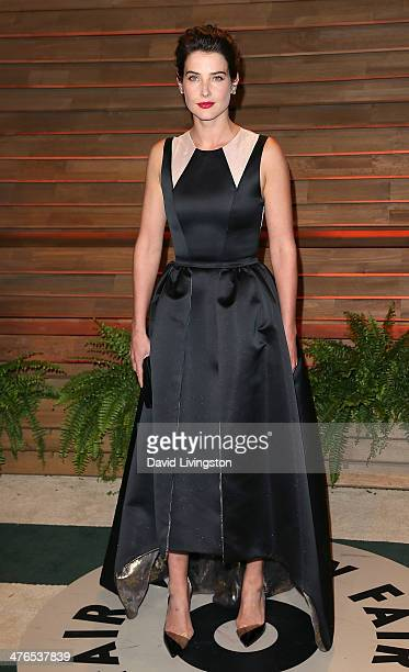Actress Cobie Smulders attends the 2014 Vanity Fair Oscar Party hosted by Graydon Carter on March 2 2014 in West Hollywood California