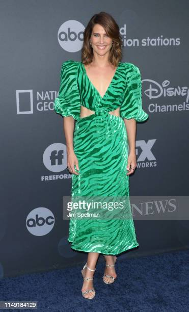 Actress Cobie Smulders attends the 2019 Walt Disney Television Upfront at Tavern On The Green on May 14, 2019 in New York City.