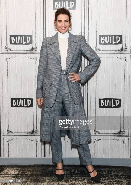 Actress Cobie Smulders attends the Build Series to discuss 'Not On My Watch- A Call For Change In Ovarian Cancer Care' at Build Studio on October 24,...