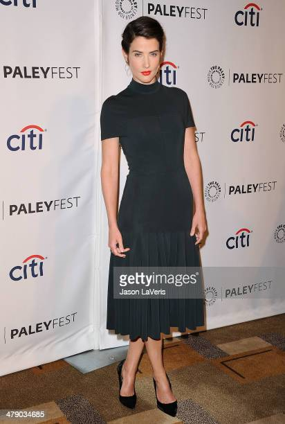 Actress Cobie Smulders attends the 'How I Met Your Mother' series farewell event at the 2014 PaleyFest at Dolby Theatre on March 15 2014 in Hollywood...