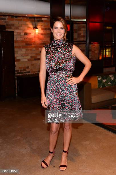 Actress Cobie Smulders attends the Mastercard's Masterpass campaign launch event held at Baro on December 6 2017 in Toronto Canada