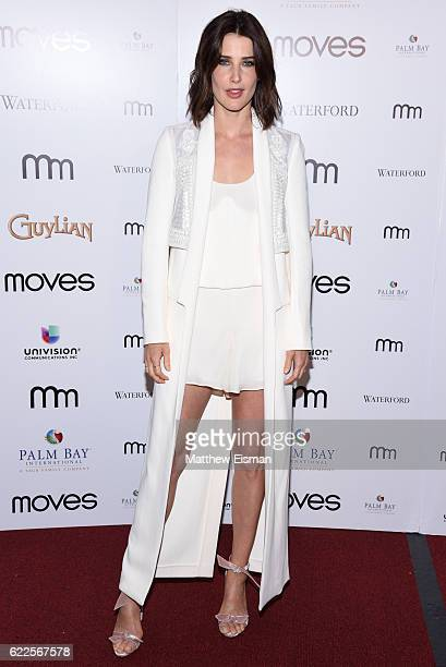Actress Cobie Smulders attends the New York Moves 2016 Power Women Awards at India House Club on November 11, 2016 in New York City.