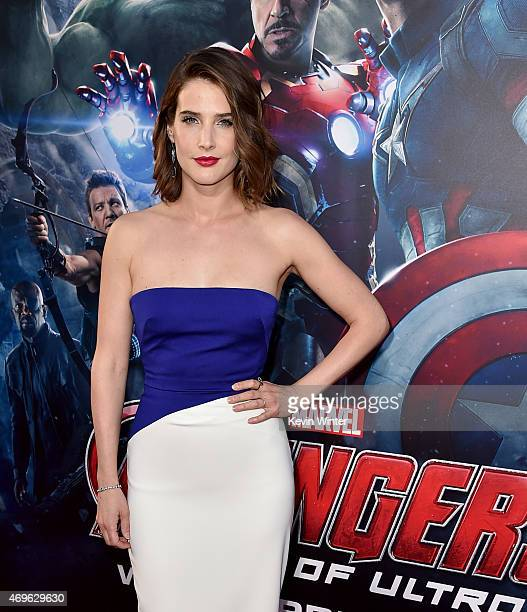 Actress Cobie Smulders attends the premiere of Marvel's 'Avengers Age Of Ultron' at Dolby Theatre on April 13 2015 in Hollywood California