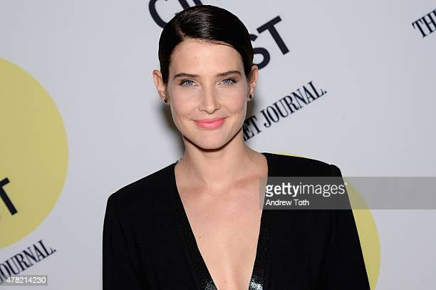Actress Cobie Smulders attends the 'Unexpected' Premiere during BAMcinemaFest 2015 at BAM Peter Jay Sharp Building on June 23 2015 in New York City