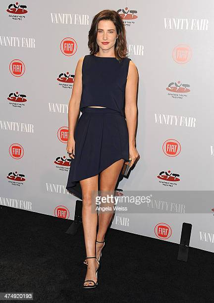 Actress Cobie Smulders attends the Vanity Fair Campaign Hollywood 'Young Hollywood' party sponsored by Fiat at No Vacancy on February 25 2014 in Los...