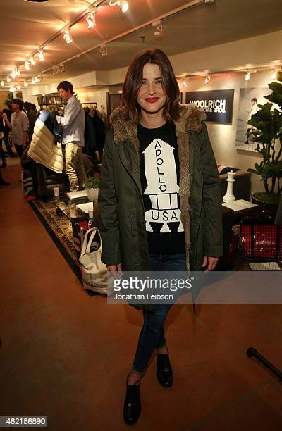 Actress Cobie Smulders attends The Variety Studio At Sundance Presented By Dockers on January 25 2015 in Park City Utah