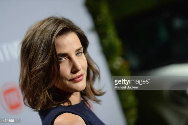 "Actress Cobie Smulders attends Vanity Fair and FIAT celebration of ""Young Hollywood"" during Vanity Fair Campaign Hollywood at No Vacancy on February..."