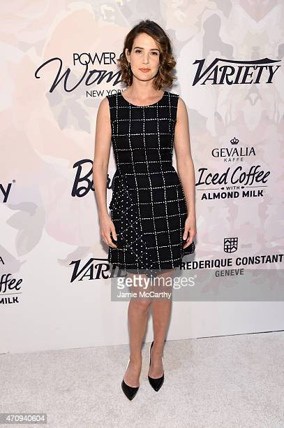 Actress Cobie Smulders attends Variety's Power of Women New York presented by Lifetime at Cipriani 42nd Street on April 24 2015 in New York City
