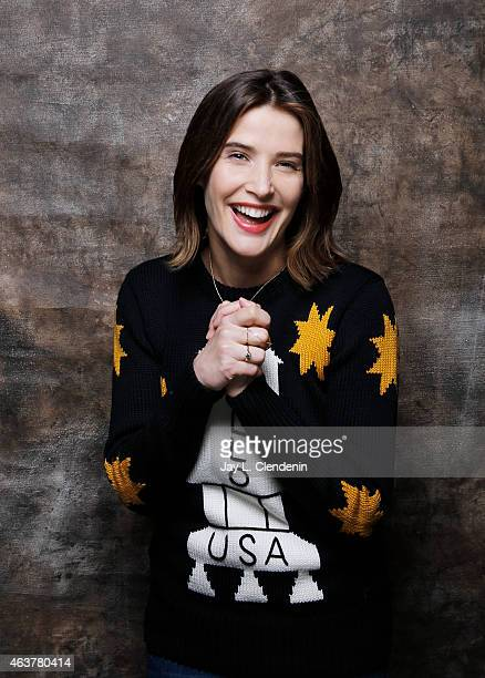 Actress Cobie Smulders is photographed for Los Angeles Times on January 24 2015 in Park City Utah PUBLISHED IMAGE CREDIT MUST READ Jay L...